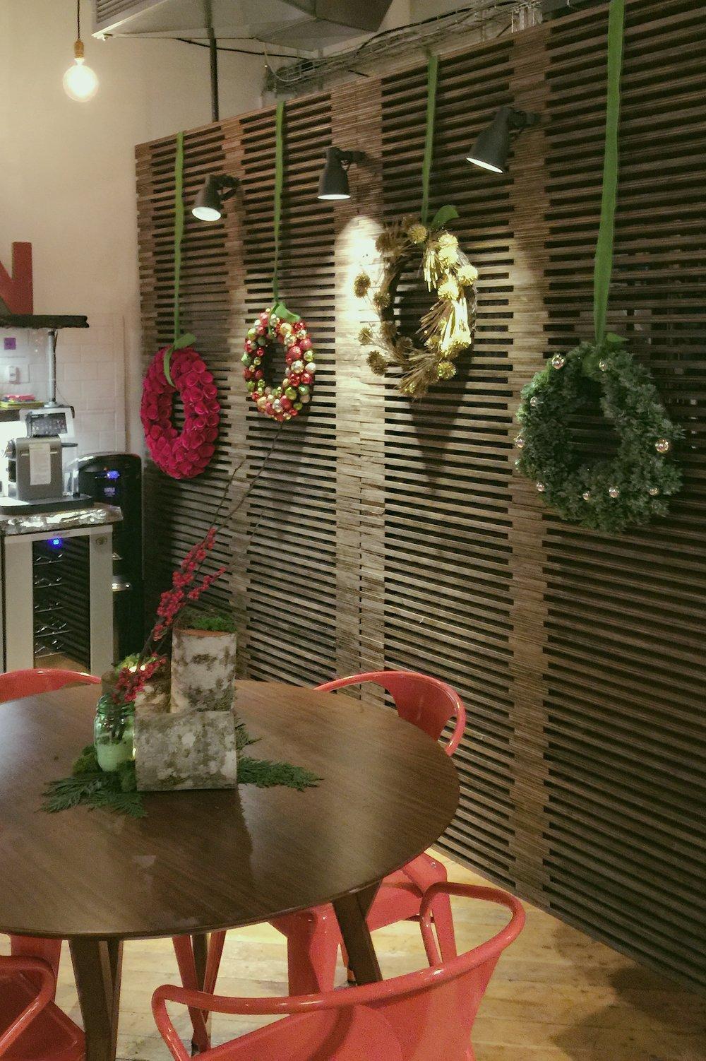 Mismatched Wreaths