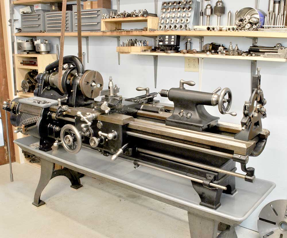 Hendey machine lathe
