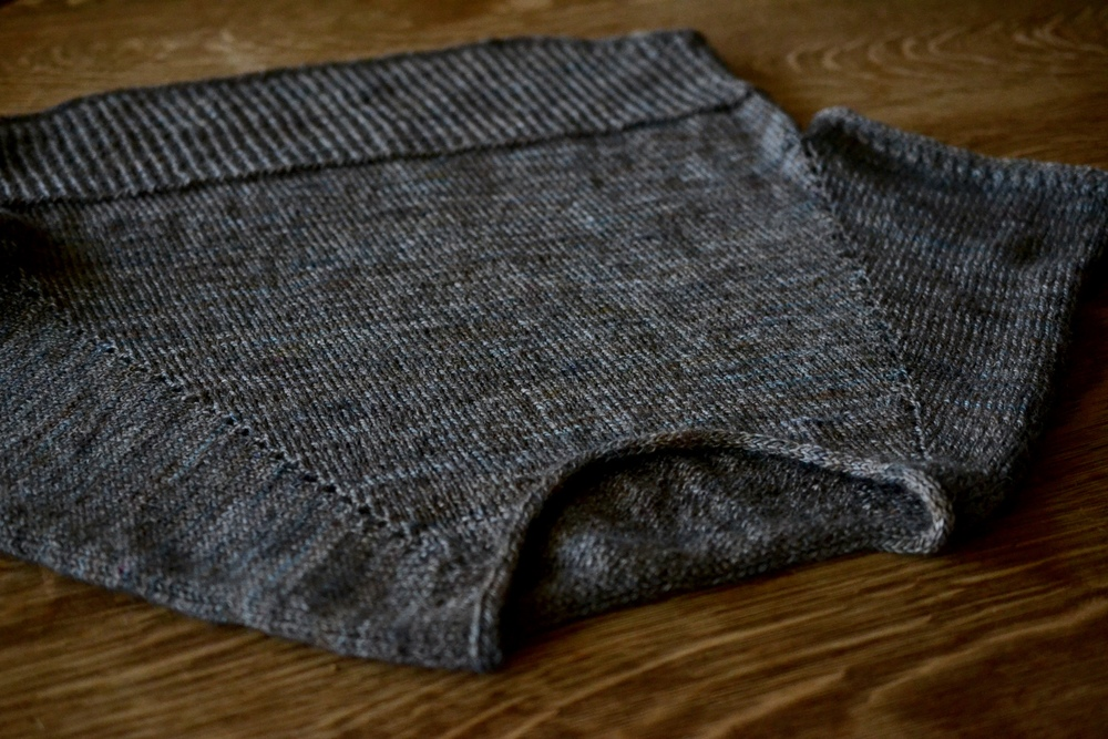Vaara Tee knit in Mooresburg DK - MOORESBURG colourway!