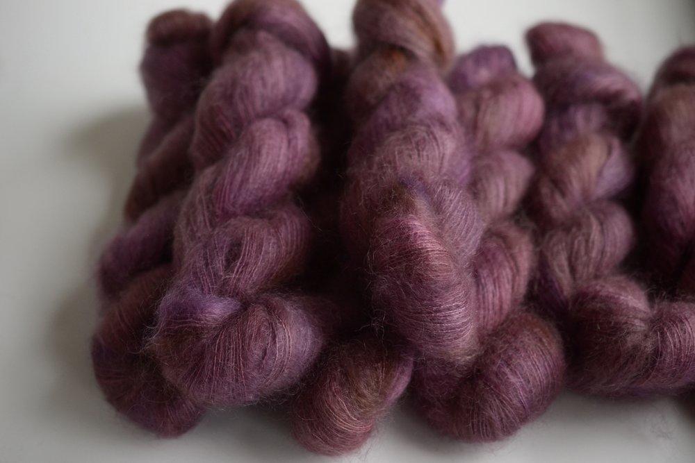 AMARANTH - mohair lace