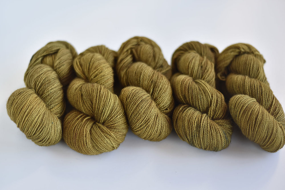 Golden Oak - BFL 4 ply