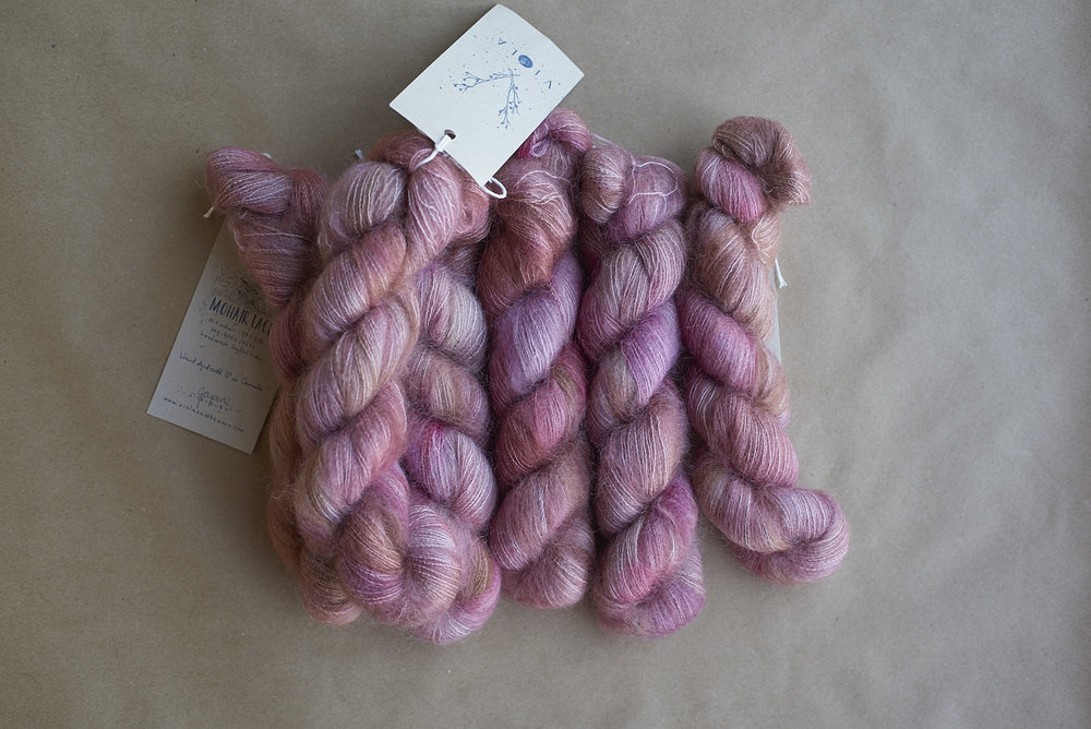 Jaipur on Mohair Lace