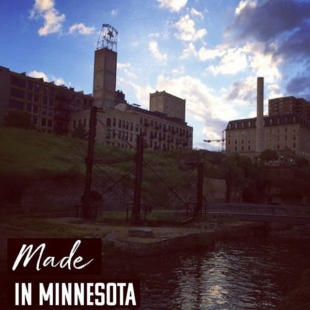We love the city we live in- the city and the nature we're surrounded by! . All of our products are designed, developed and manufactured in the a Twin Cities. . . . #madeinmn #madeinusa #mpls #fashion #manufacturing #city #nature