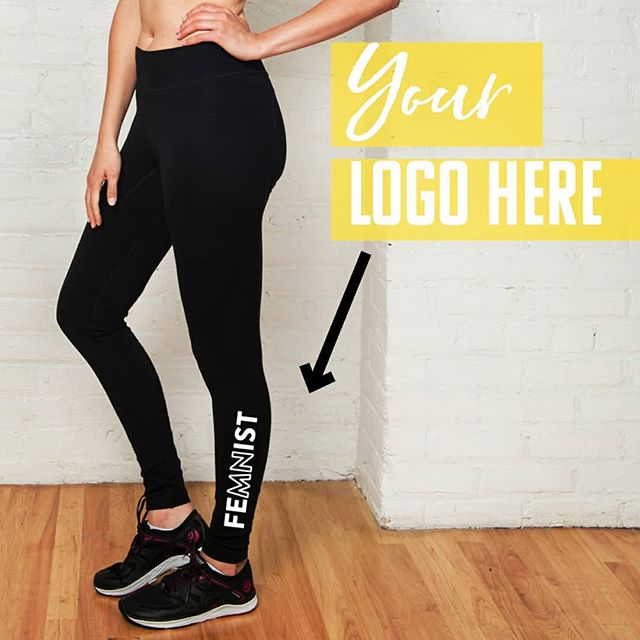 We loved making these custom leggings for @stillkickinco's line of high-performance FeMNist gear! . Let's collaborate and make your dream of having your logo on quality workout clothes, a reality! . . . #gymgear #leggings #yogapants #workouttanks #workoutclothes #yoga #yogi #fitness #fashion #fitspo #gym