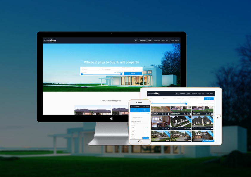 We wanted to help  HomeBoost  have a fully responsive website so that their users could access  HomeBoost  anytime, anywhere, and on any device.