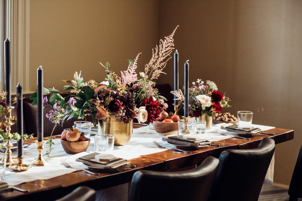 florals + natalie bowen design + Duy Ho Photography