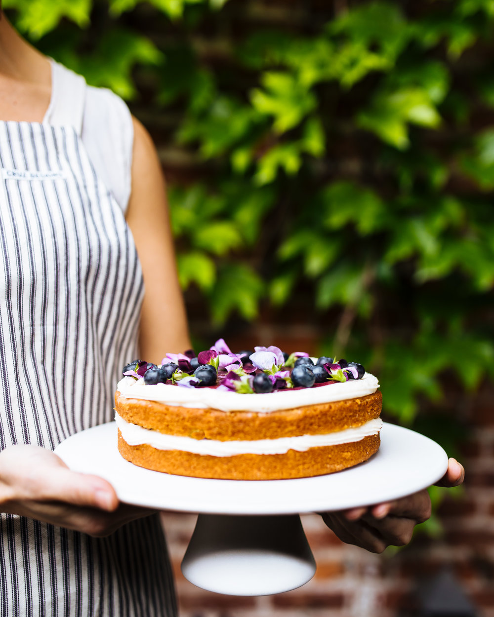 Cake Bloom blueberry creme fraiche cake_photo by Emma k Morris