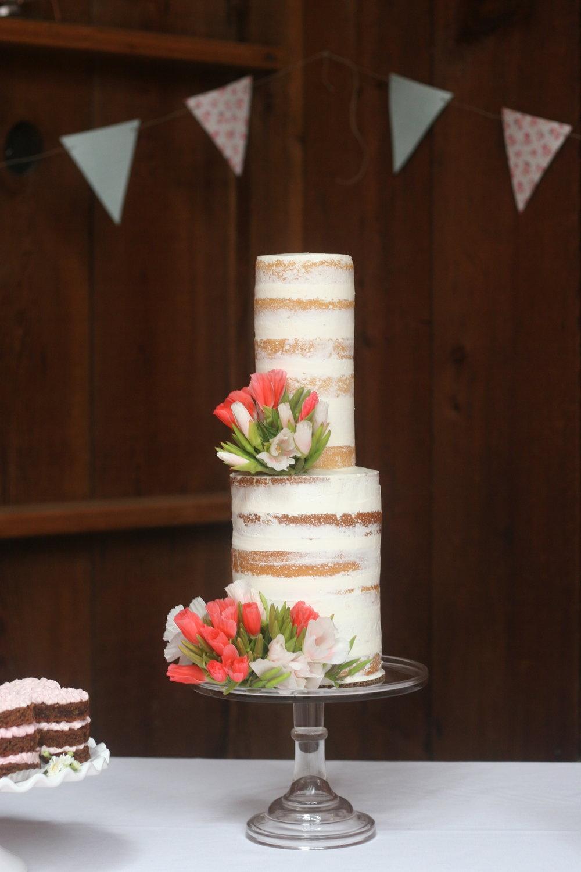 Modern-Minimal Spring Wedding Cake Design-Seminakedcake-Cake Bloom SonomaCalifornia.jpg
