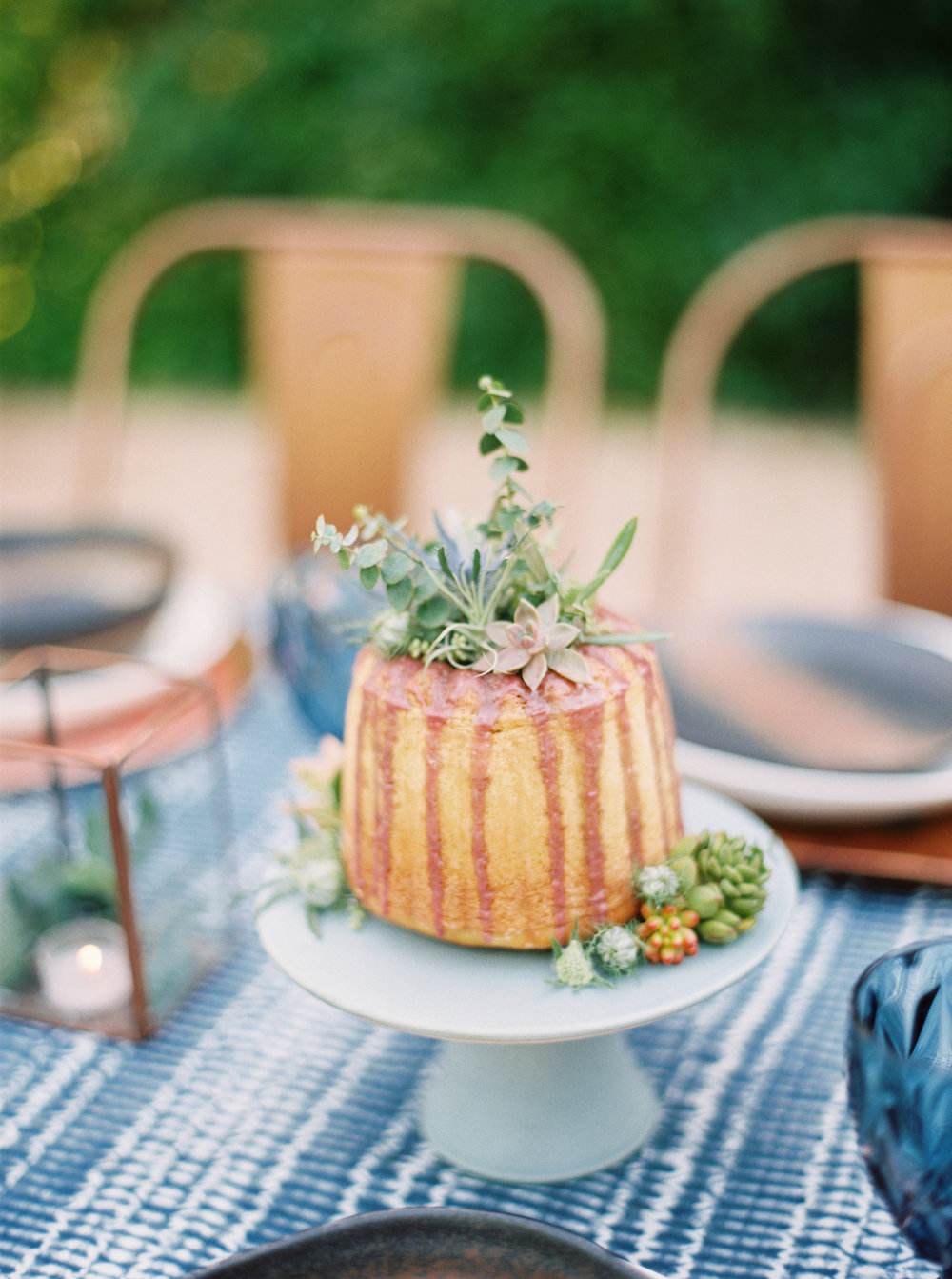 Blueberry Drip Cake-Bundt-succulent cake- Cake Bloom-Emily March Payne Photography