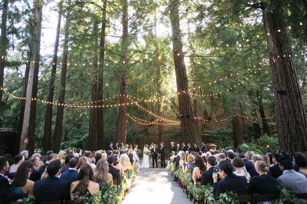 Brit and Will's Deer Park Villa Wedding Under the Redwoods - Nichols Photographers