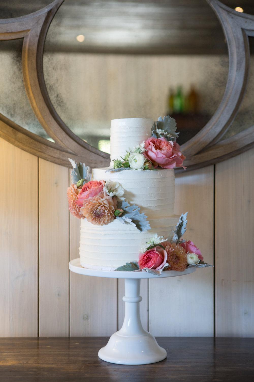 Nancy + Daniel - Cake Bloom - Cake Cutting - Copain Winery - Healdsburg - Wine Country Wedding - Suzanne Karp Photography.jpg