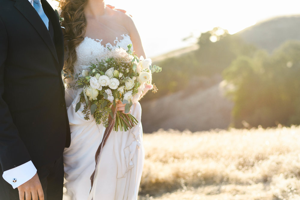 Ariel + Amr's Mt Tam Wedding - Northern California Wedding Inspiration | FarmGirl Flowers | Jillian Gorman Photography
