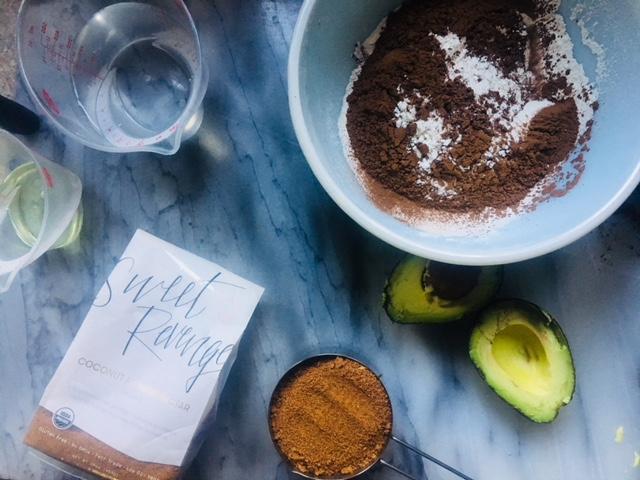 Vegan Avocado Cake Ingredients | recipe by Cake Bloom | Sonoma, California