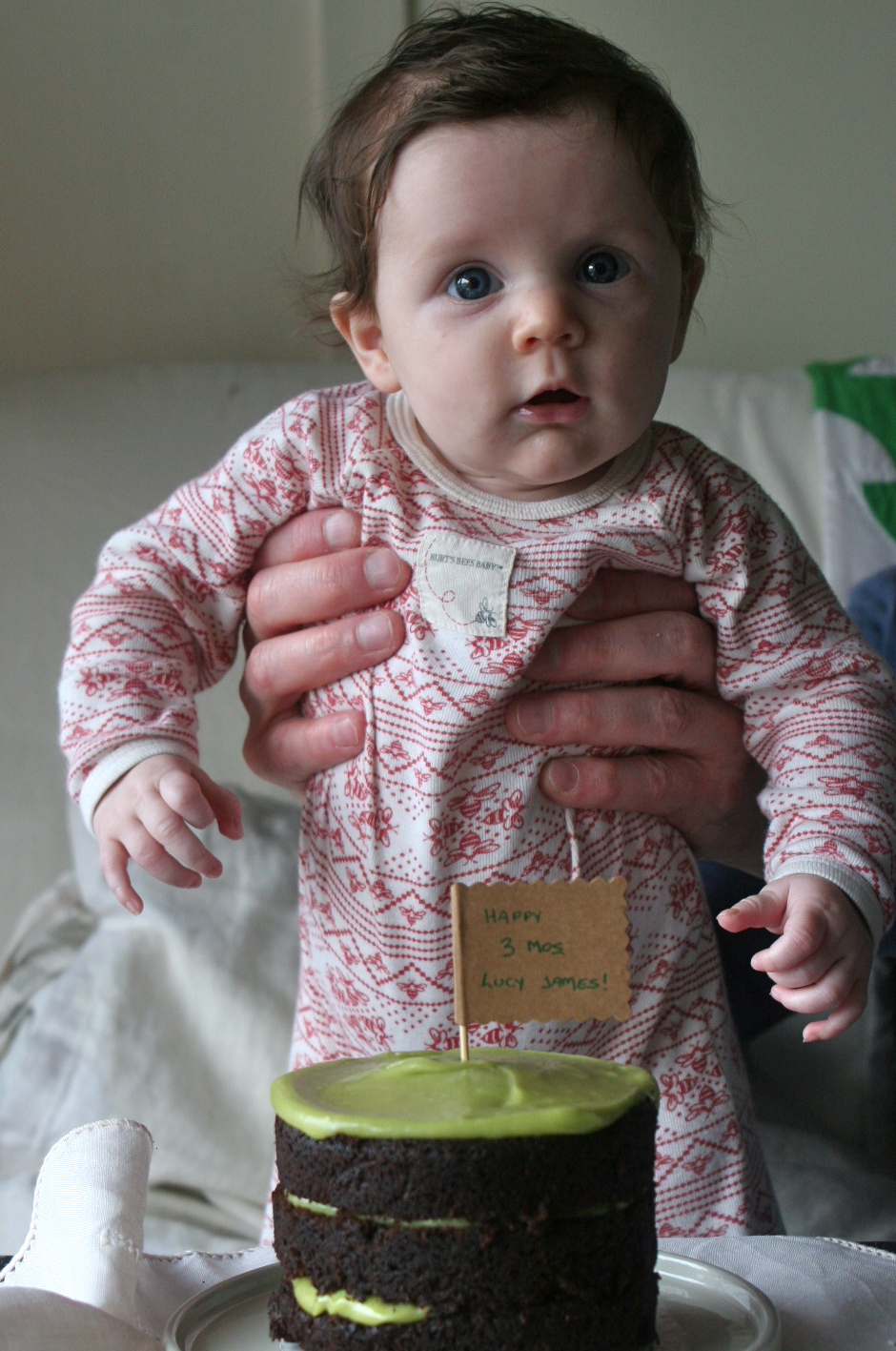 Lucy James - 3 months old