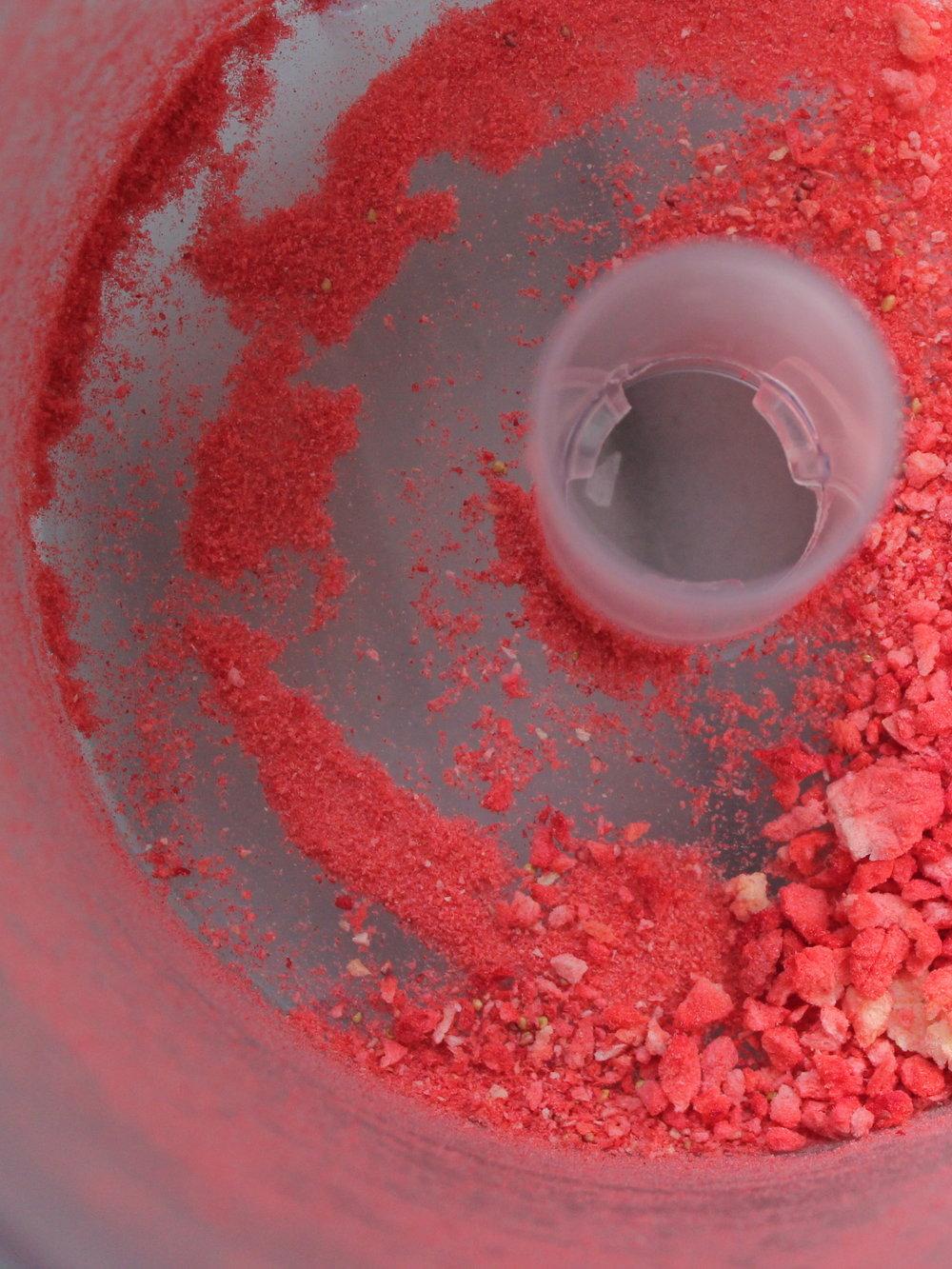 freeze dried strawberry sprinkles