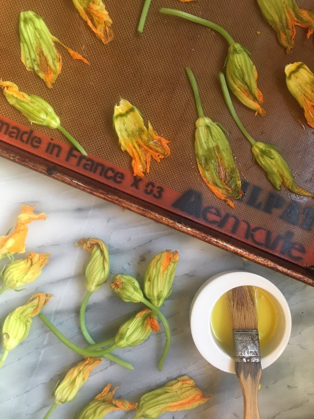 How to Candy Squash Blossoms