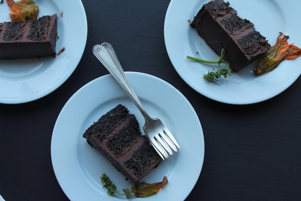 chocolate zucchini cake slices.JPG