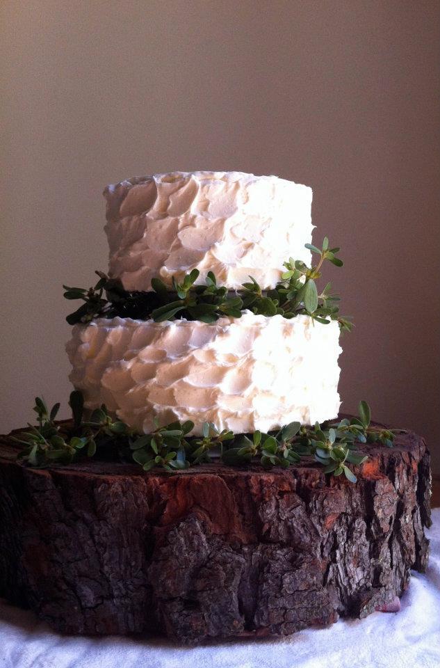 7 Fresh Greenery Ideas To Style Your Cake  | Purslane Cake by Cake Bloom