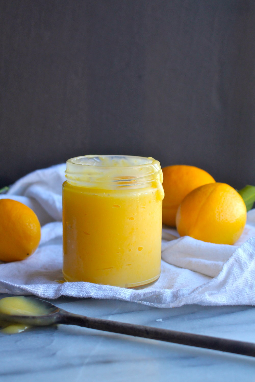 Get my recipe for Meyer lemon curd  here .