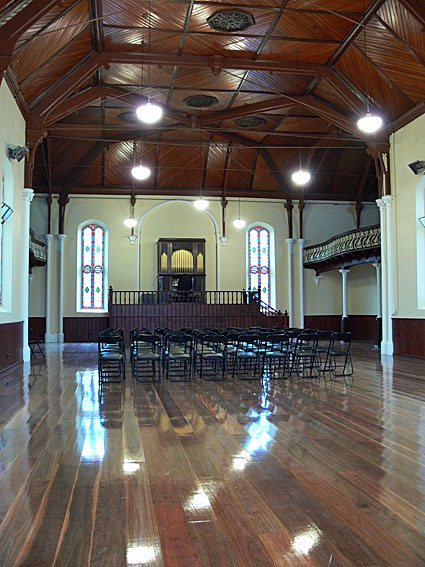 'The Bluestone' is the Main Concert venue at Wesley