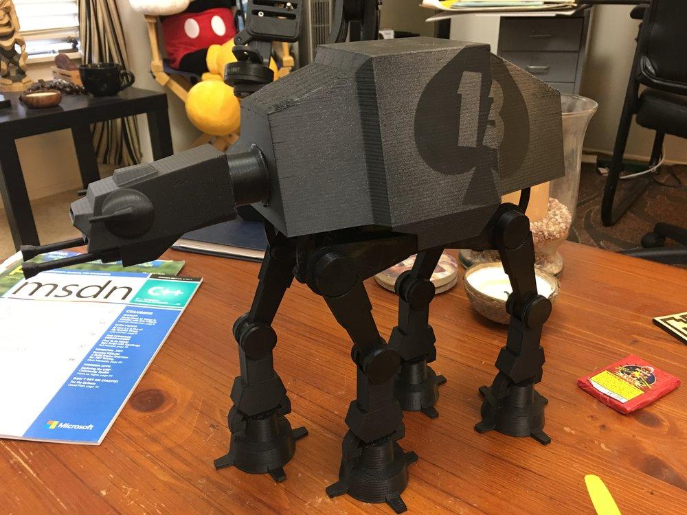 3D Printed AT-AT