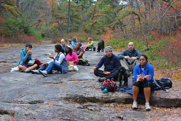 Annual full-day fall hiking trip for leaders, coaches, executives, activists, doctors, engineers, surgeons, researchers, students and entrepreneurs to Minnewaska State Park in the amazing Hudson Valley that Michelle co-leads with expert climber Chris Moratz of Gardiner, NY.