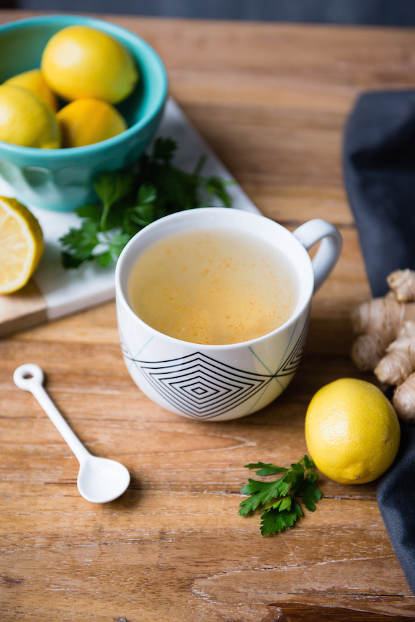 MORNING TONIC  . One of the best things you can do for your digestive system is to start your morning with hot water and lemon. This is a daily part of our 21-day cleanse program,  Fresh Start . Click on the  photo above  to get rolling with a  FREE MORNING TONIC RECIP E, for a healing start to your DAY!