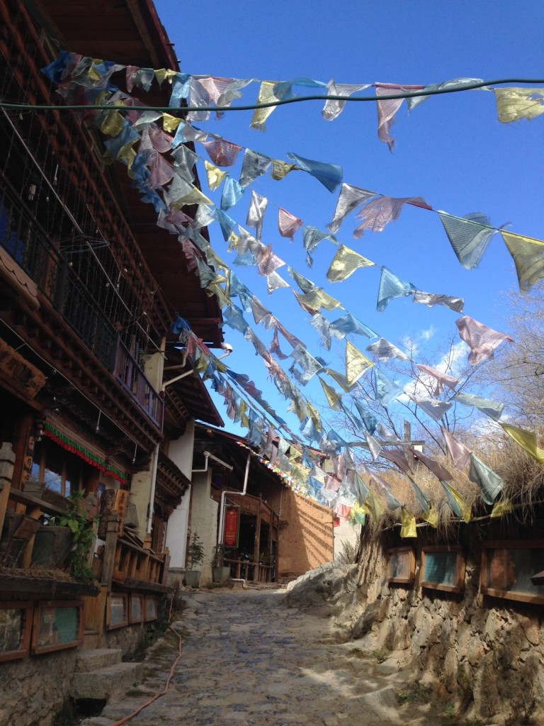 In ethnic minority areas, the likelihood of government scrutiny of environmental groups is even higher. Shangri La, Yunnan. (Photo credit: Hannah.)