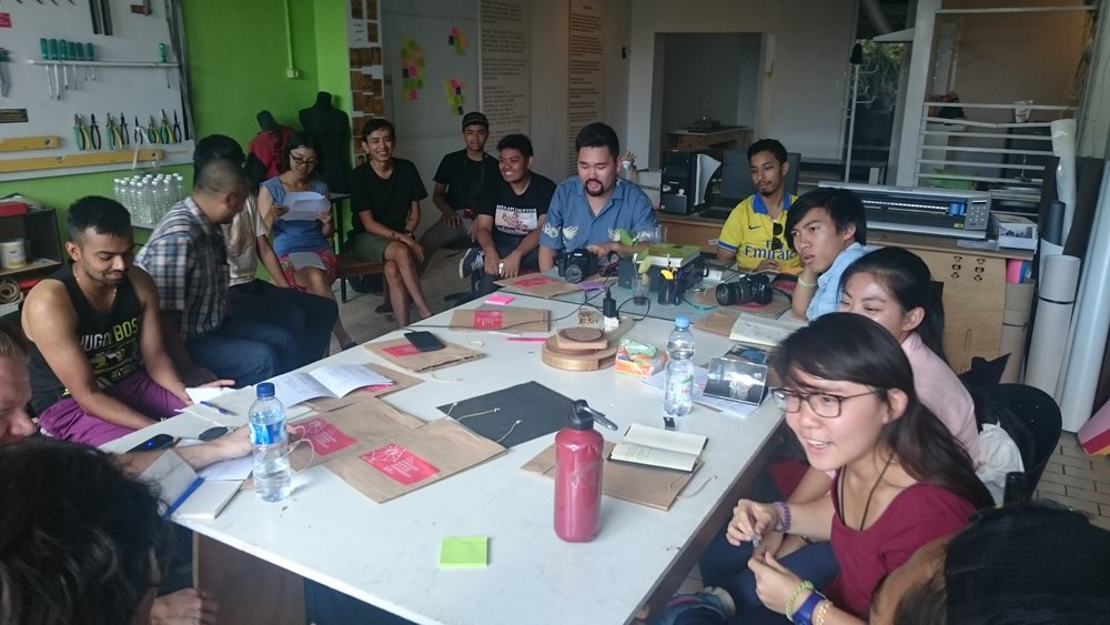 The first workshop of the Open Source Hardware and Citizen Science Project in Yogyakarta, Indonesia