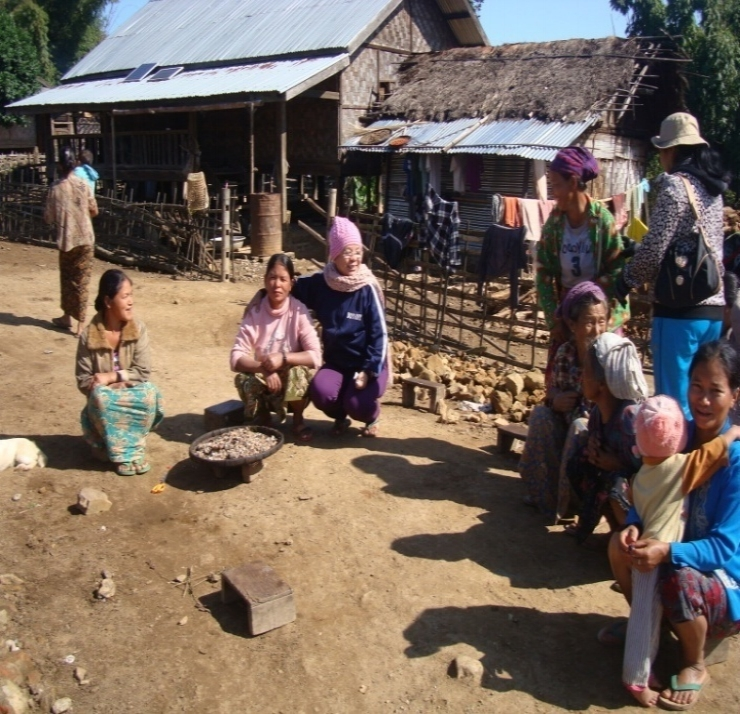 Interviews with villagers in Wa Soke village.