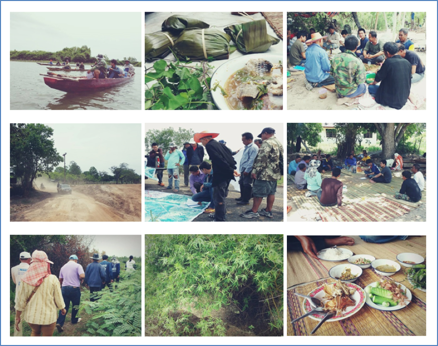 Wetland survey in Nong Kae Sub-district (Credit: Phongtep Bungkla)