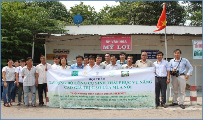 Meeting of stakeholders in My Loi Commune, Vietnam (Credit: RCRD)