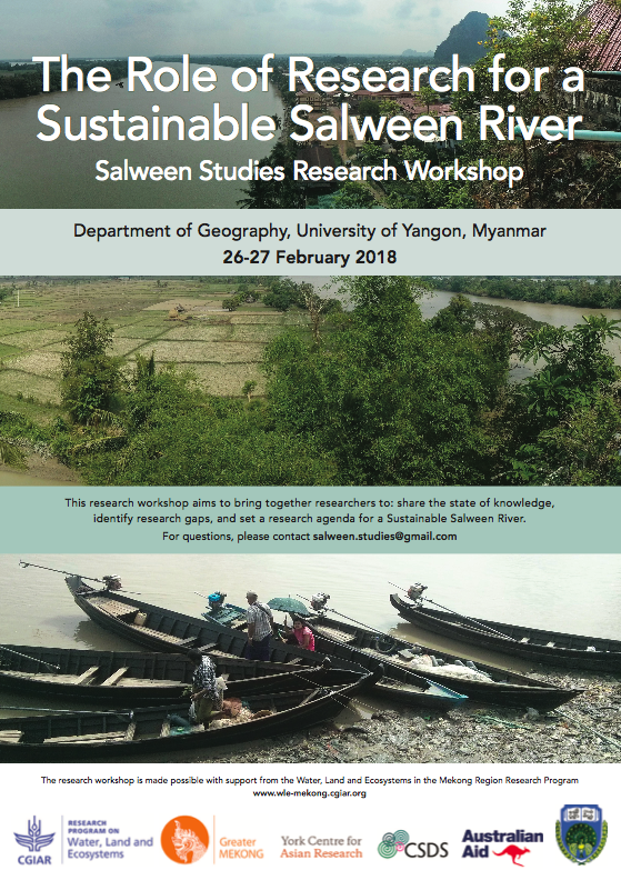 """Mekong, Salween and Red Rivers: Sharing Knowledge and Perspectives Across Borders"""