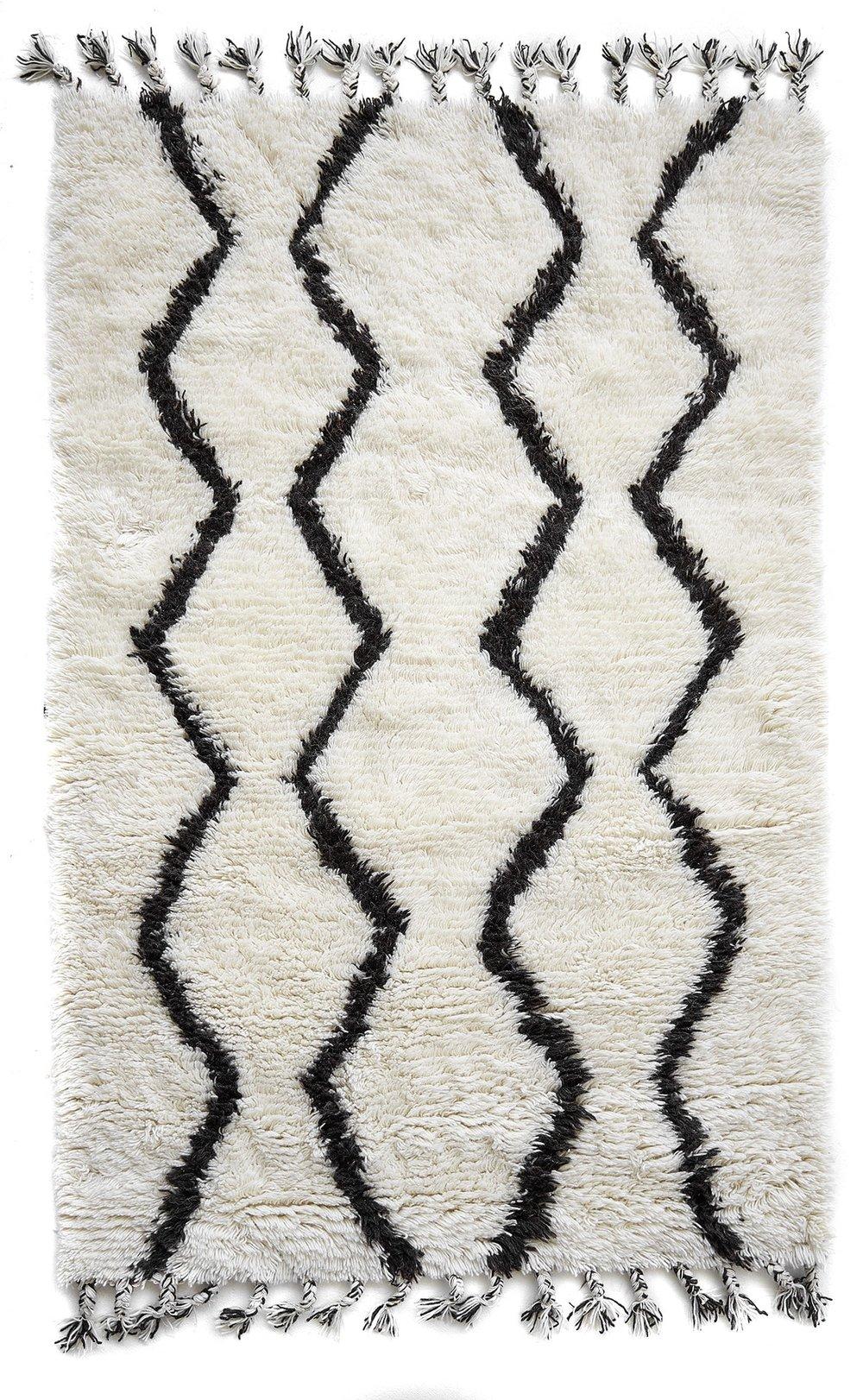 Berber Wool Shag Rug