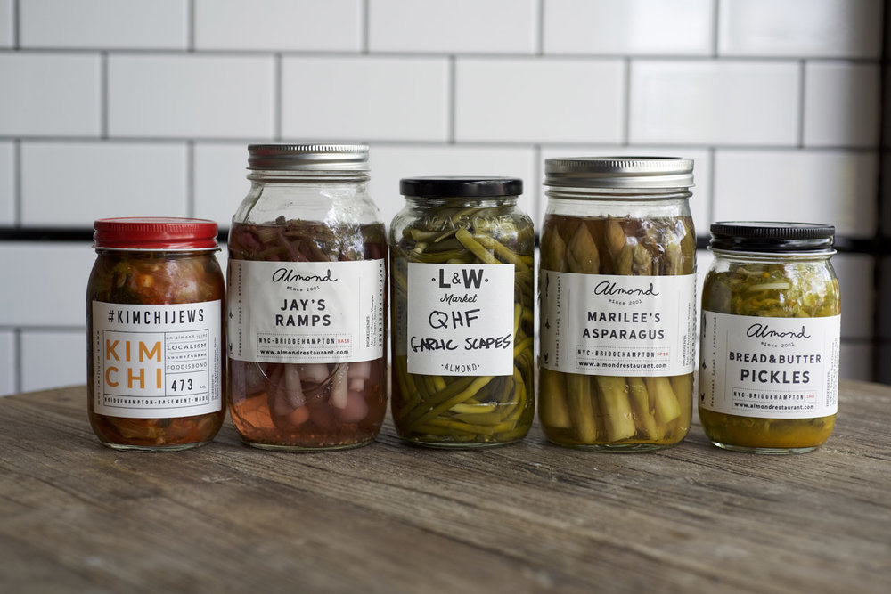 Farm to pantry - These handcrafted, small batch farm-to-table pantry items bring the Almond vibe into your own kitchen.