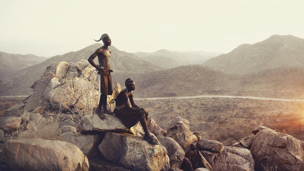 Himba, Epupa Falls, Namibia, 2014