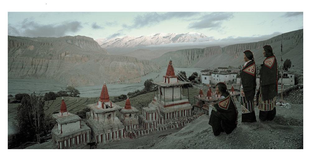 Mustang, Tangge Village, Upper Mustang, Kingdom of Lo, Nepal, 2011