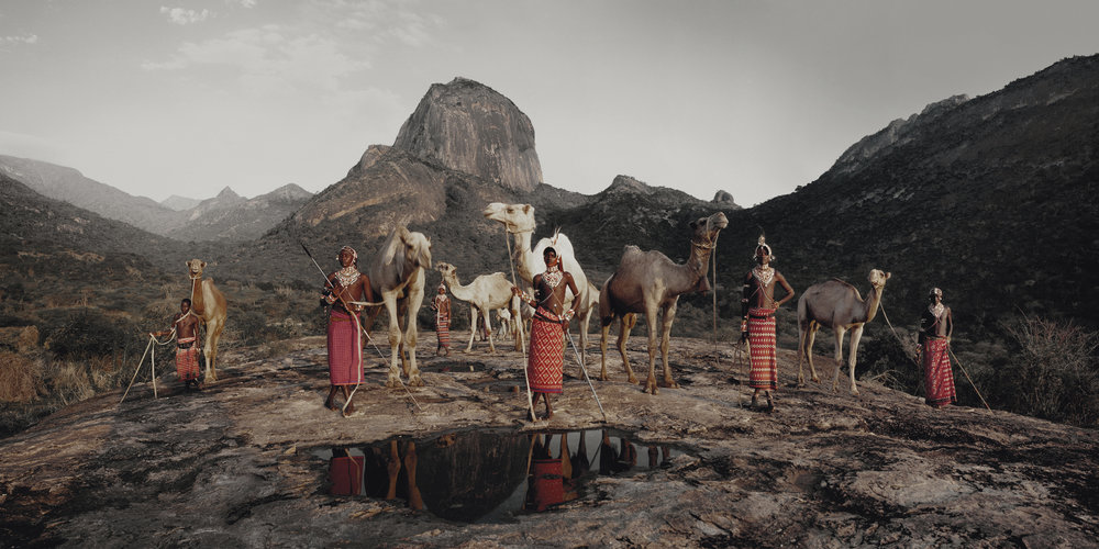Samburu, Ndoto Mountain Range, Kenya, December 2010