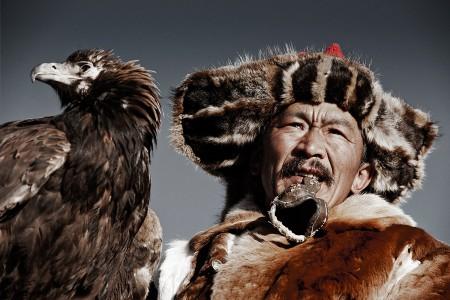 VI 14 Khairatkhan, the eagle Hunter Mongolia, 2011
