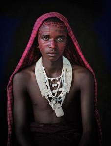 VIII 449 - Saitoti, Maasai Boy Ngorongoro, Serengeti. Tanzania, 2010 - 120 x 100 cm.jpg