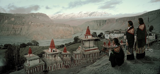 XII 166 - Tsering Yangzom, Tachung & Tsering Wangmo Tangge Village. Nepal, 2011 - 100 x 180 cm.jpg