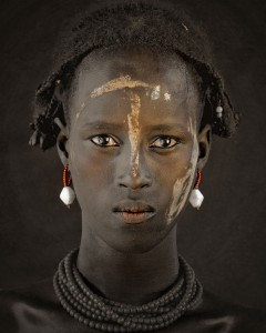 XIV 379 - Dassanech Tribe, Omorate Village, Southern Omo. Ethiopia, 2011 - 170 x 140 cm.jpg