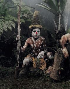 XV 59 - Gogine Boy Goroka, Eastern Highland. Papua New Guinea,2010 - 74 x 62 cm.jpg