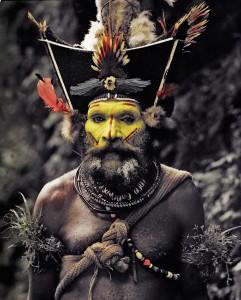 XV 65 - Kati Hirawako, Huli Wig men Ambua Falls, Tari Valley. Papua New Guinea, 2010 - 120 x 100 cm.jpg