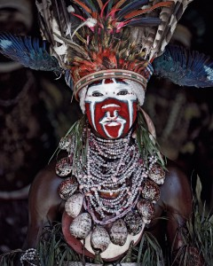 XV 77 - Kui East Wigman, Western Highlands. Papua New Guinea, 2010 - 74 x 62 cm.jpg
