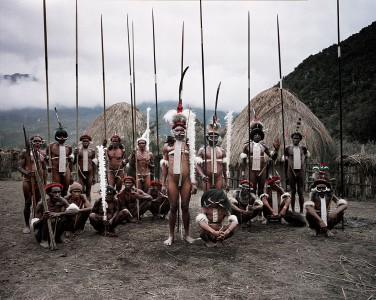 XV 408 - Dani Tribe , Yetni Village , Southern Baliem. Papua New Guinea, 2010 - 100 x 120 cm.jpg
