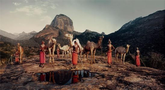 XVII 216 - Lelesas, Louelen, Lewangu, Lepokodou, Loingu & Nyerere Ndoto Mountain Range. Kenya, 2010 - 140 x 260 cm.jpg