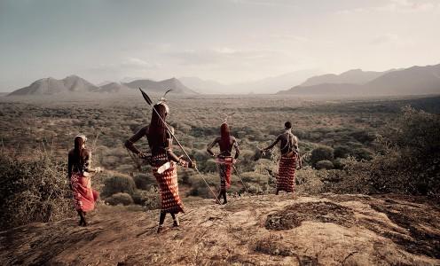 XVII 230 - Nyerere, Loingu, Lewangum & Lepokodou Kaisut desert. Kenya, 2010 - 100 x 140 cm.jpg