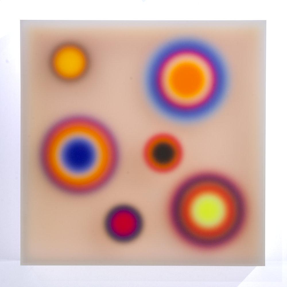 Color Space – 6. Topographic impulse/ peach medium