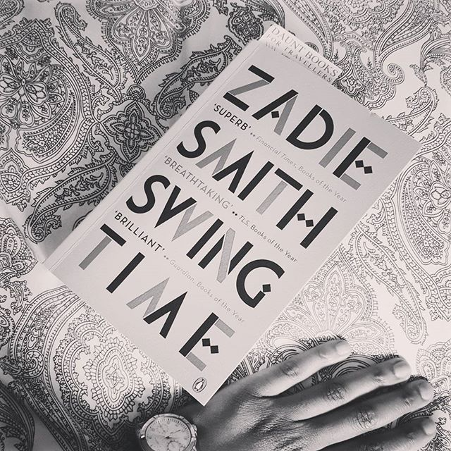 Good writers read  good books!  I love her work #zadiesmith